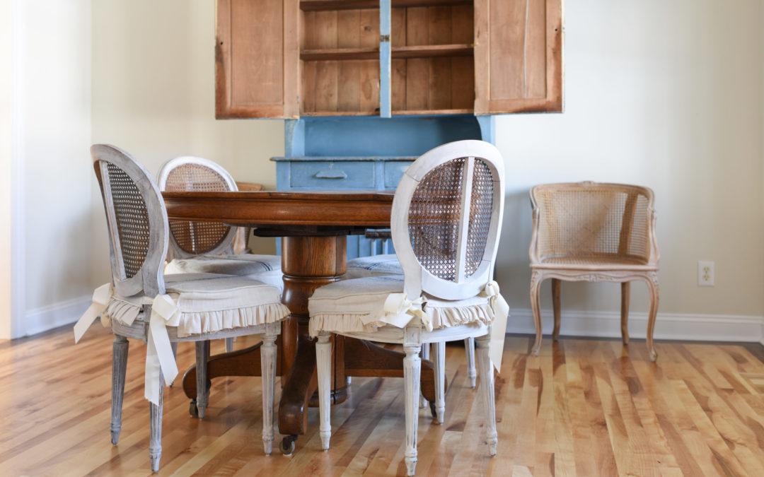 dining room wood floors