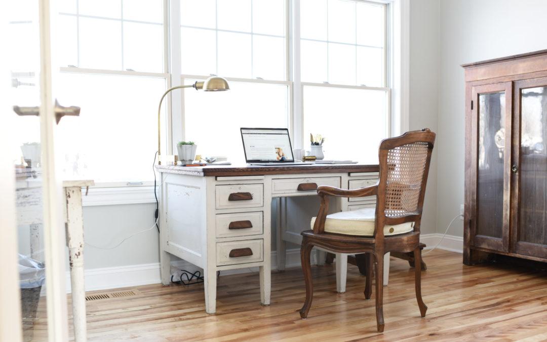 home office progress
