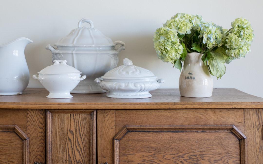 dining room | new arrangement & plans