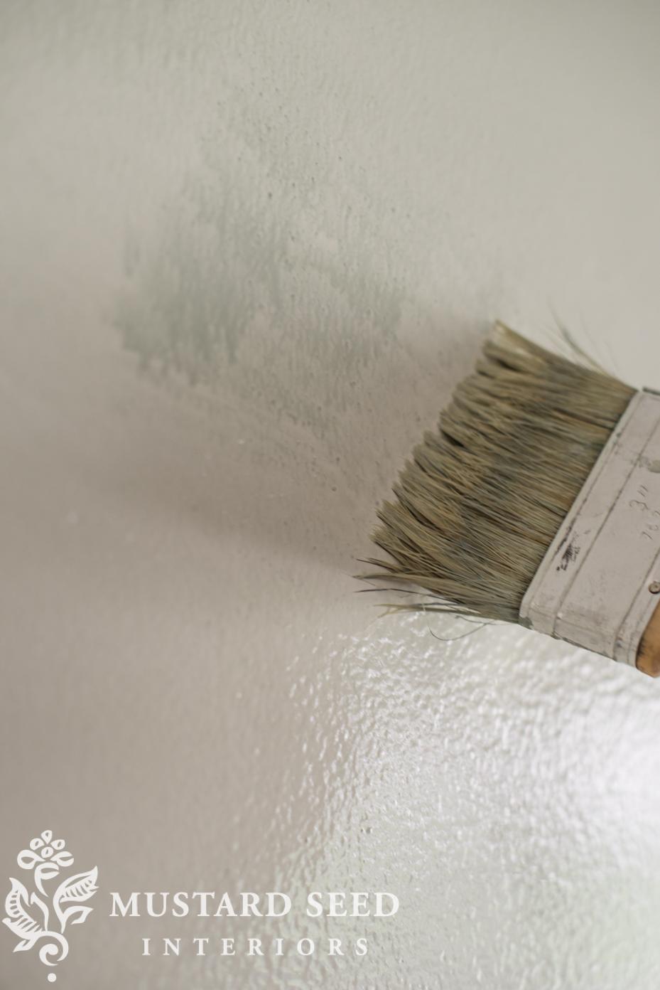 milk paint mural tutorial - Miss Mustard Seed
