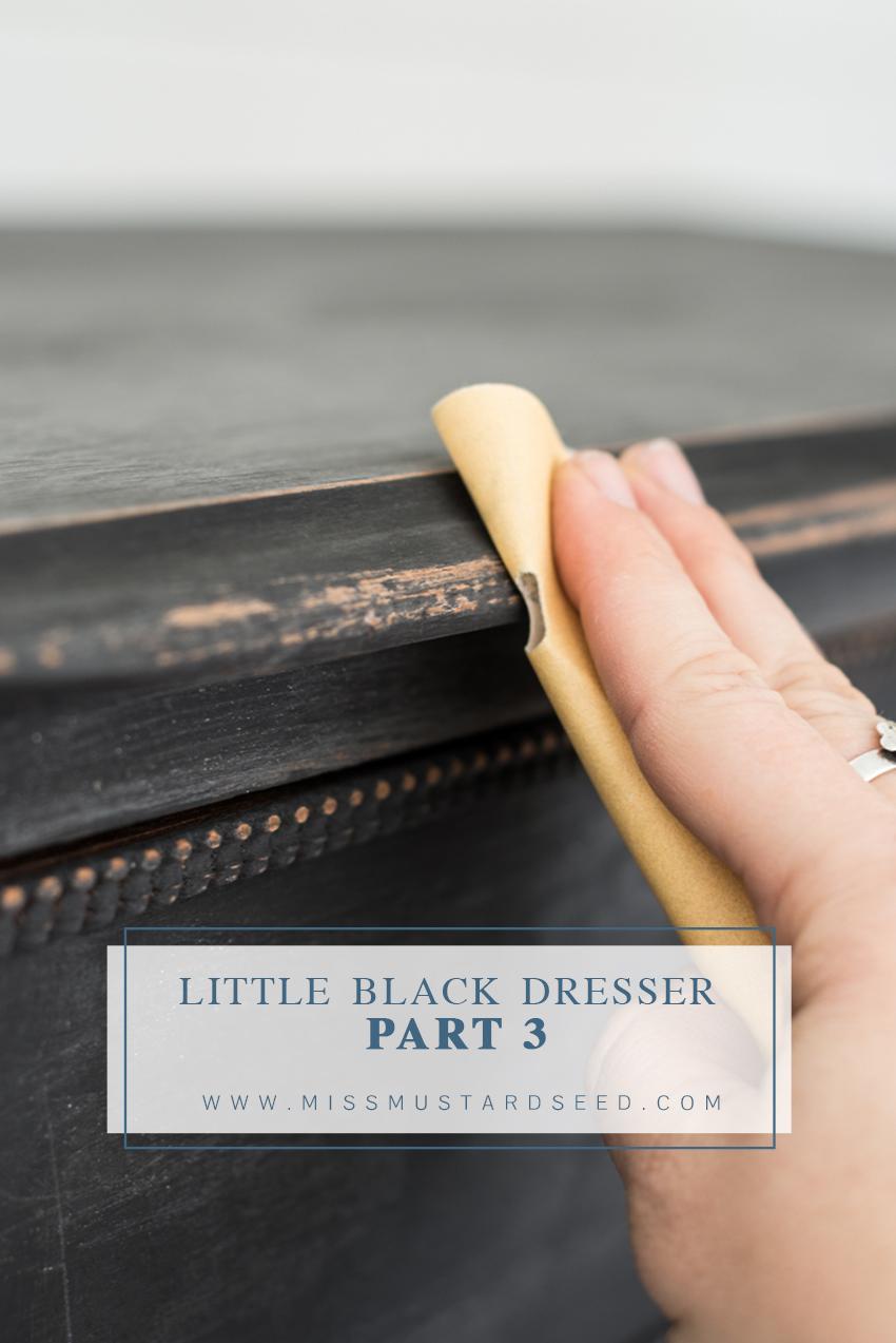 Miss Mustard Seed | Little Black Dresser Makeover