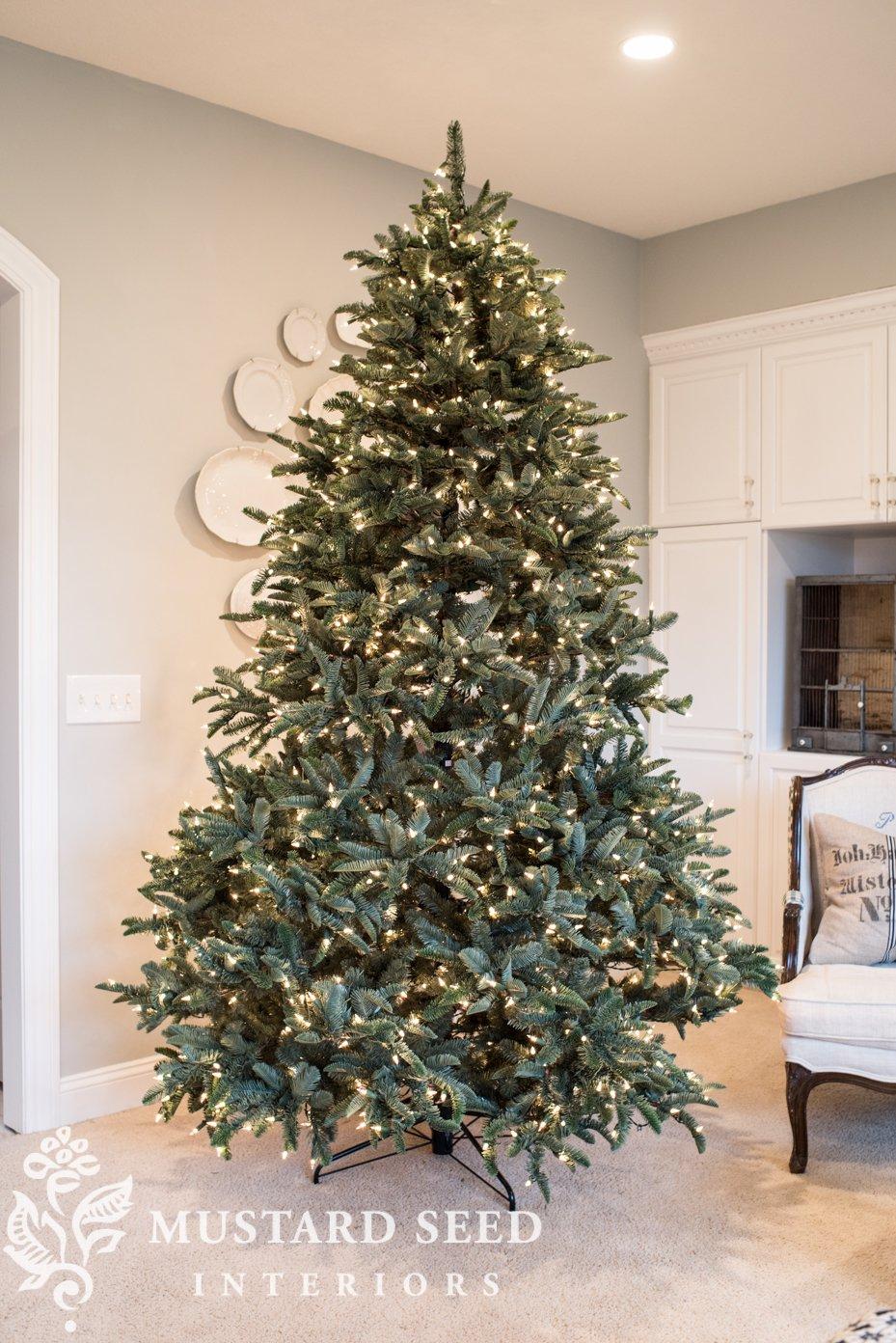 Plantable Christmas Tree.Dining Room Christmas Tree 2018 Miss Mustard Seed
