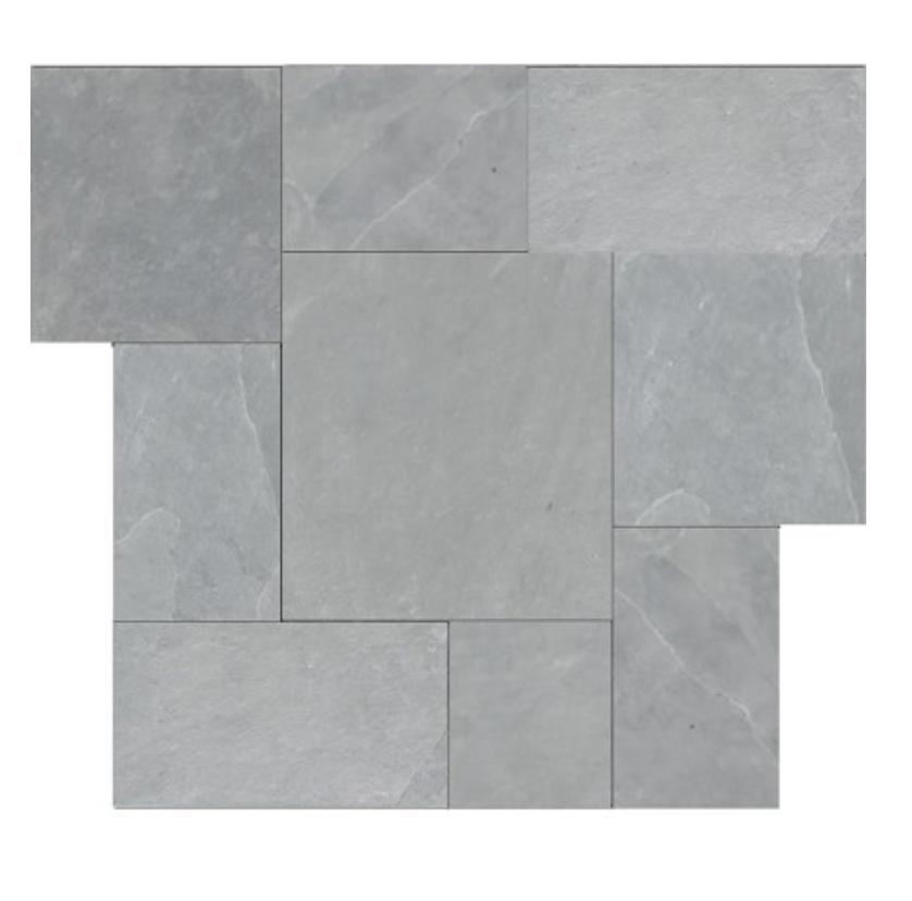 montauk blue slate tile | miss mustard seed