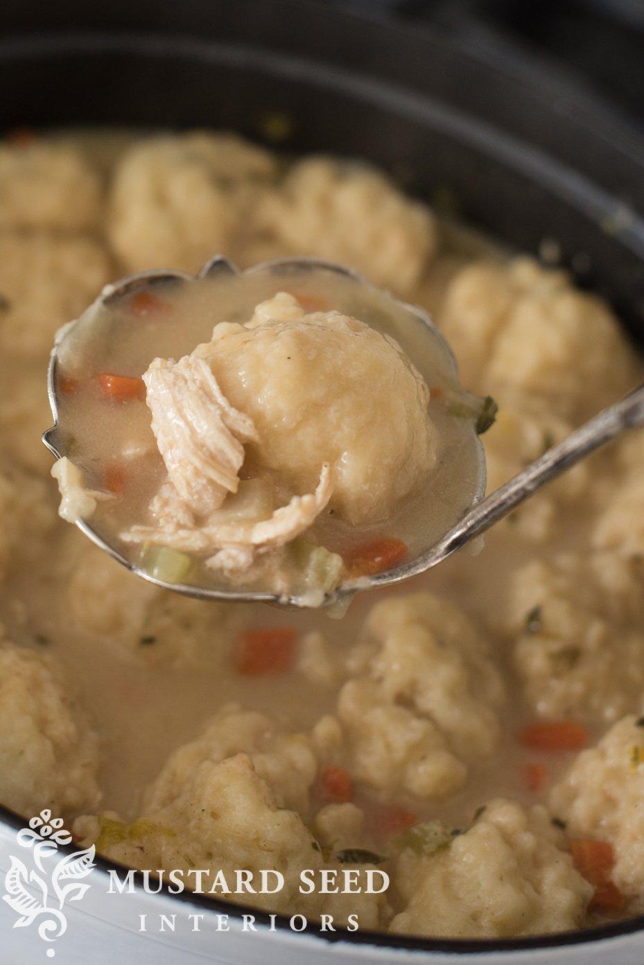 Homemade Dumplings | missmustardseed.com