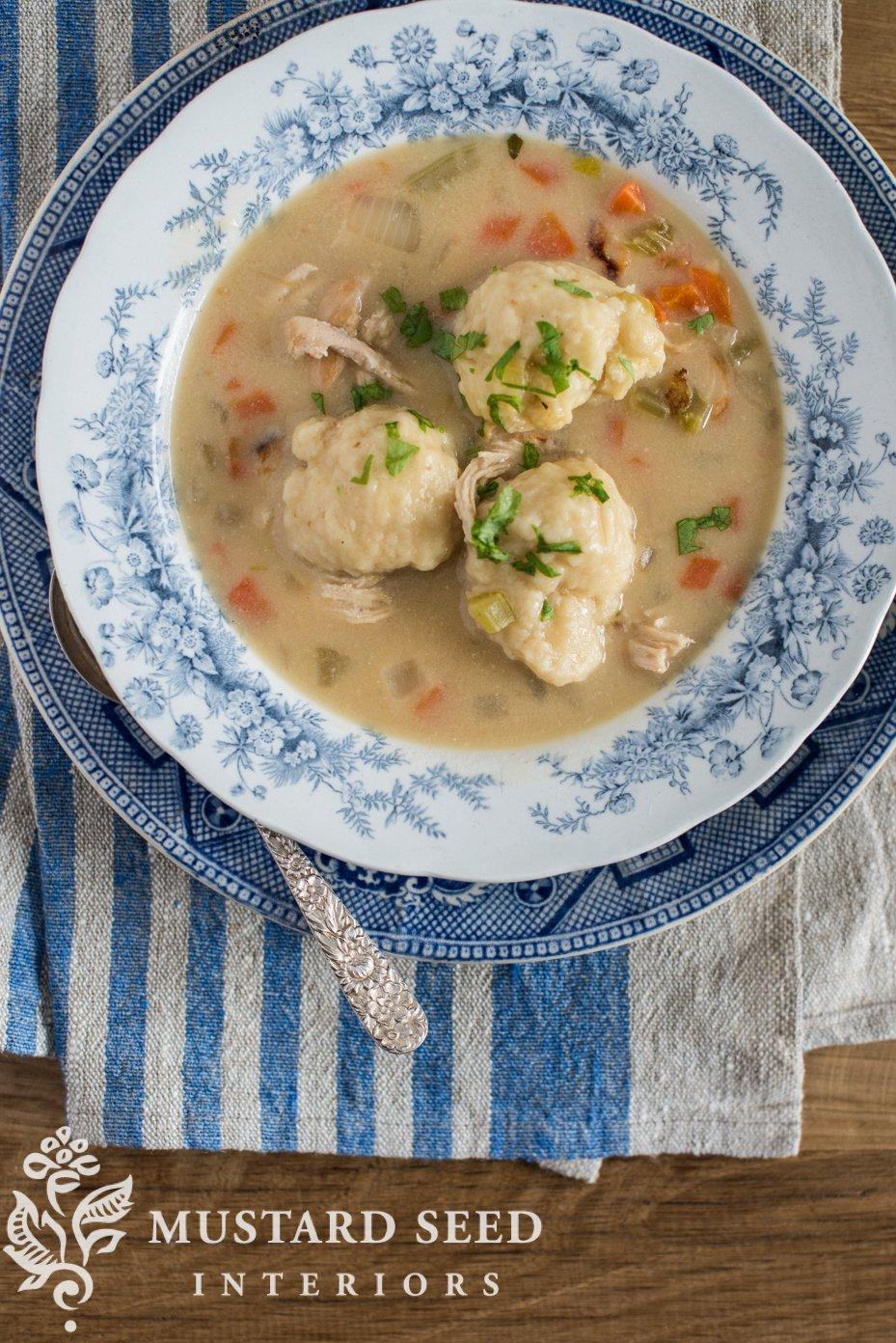 easy chicken and dumplings | missmustardseed.com