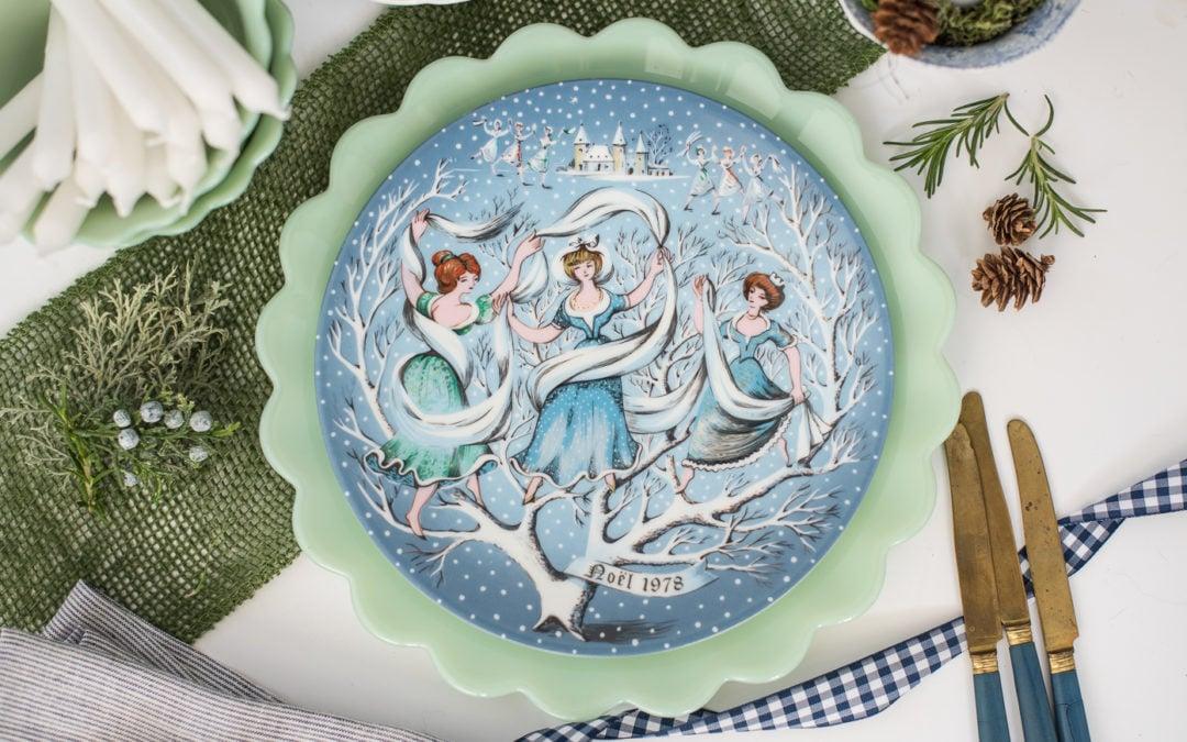 haviland 12 days of Christmas plates