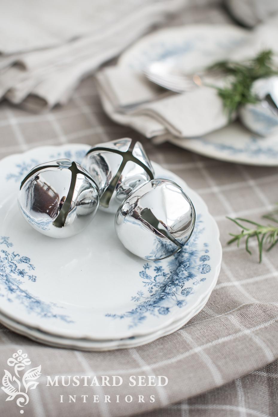 silver bells | decorate with sleigh bells | missmustardseed.com