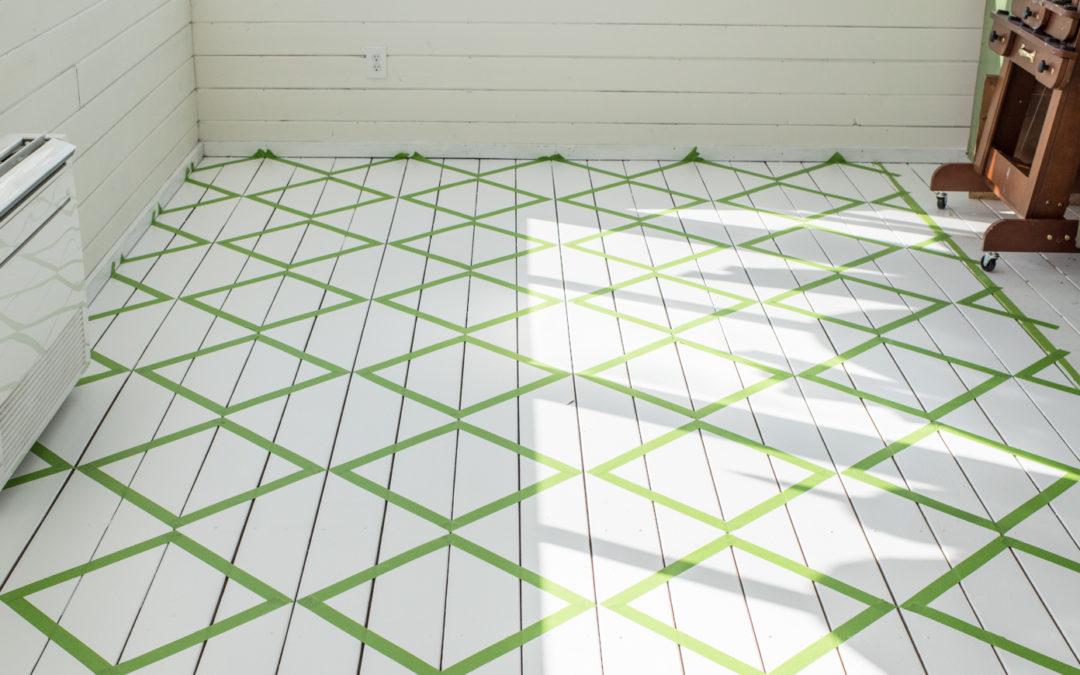 Painting Checkboard Floors | Part 1