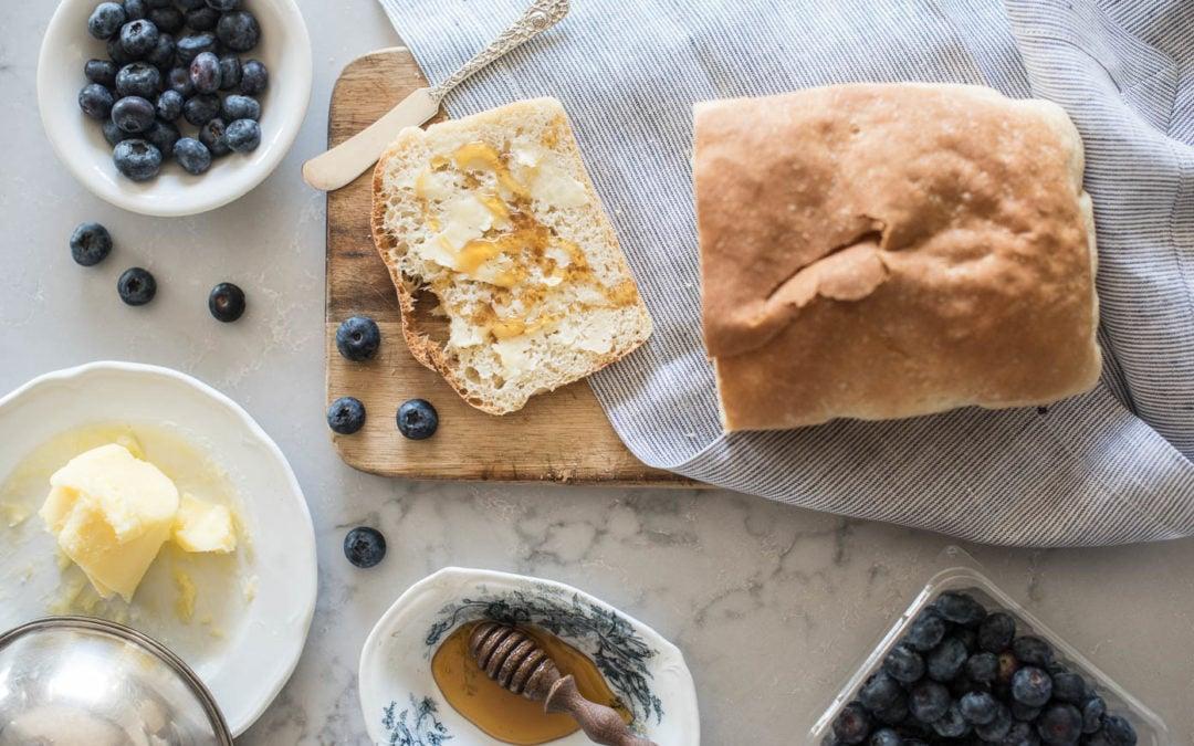 classic white bread recipe & bread-baking tips