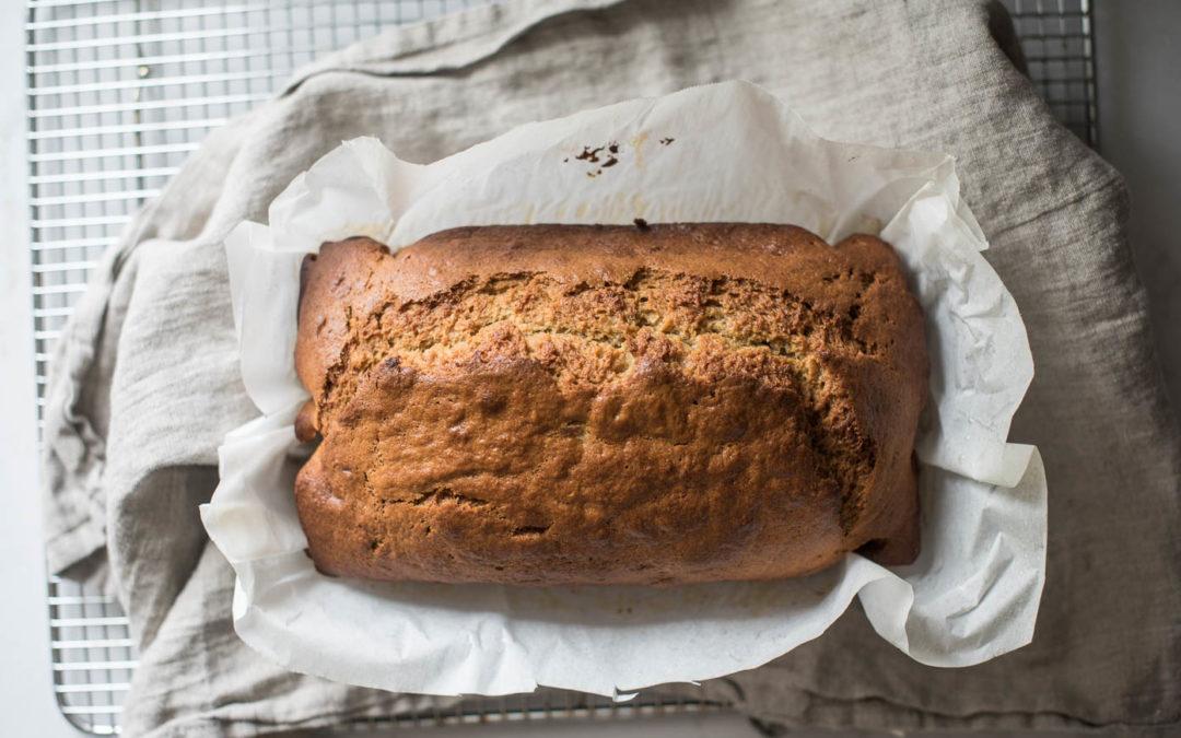 make-do banana bread recipe