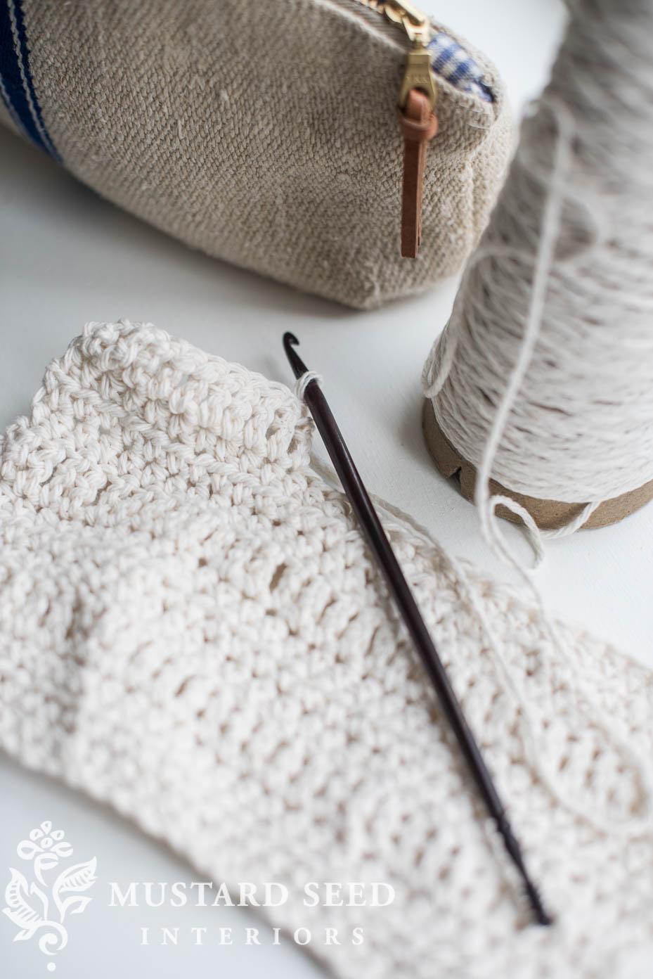 crocheted dishcloths miss mustard seed