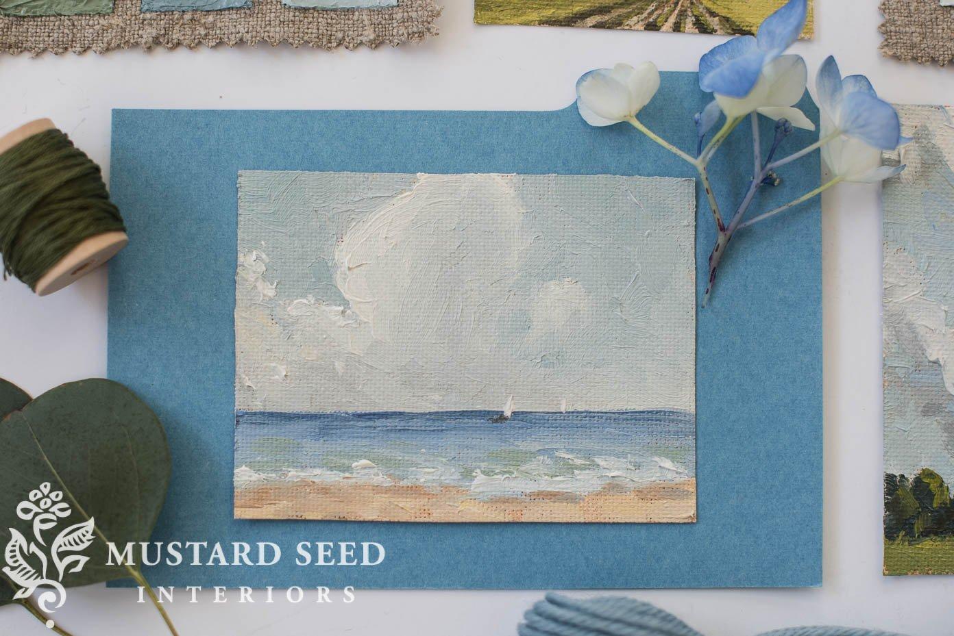 Mini Landscape | miss mustard seed | missmustardseed.com