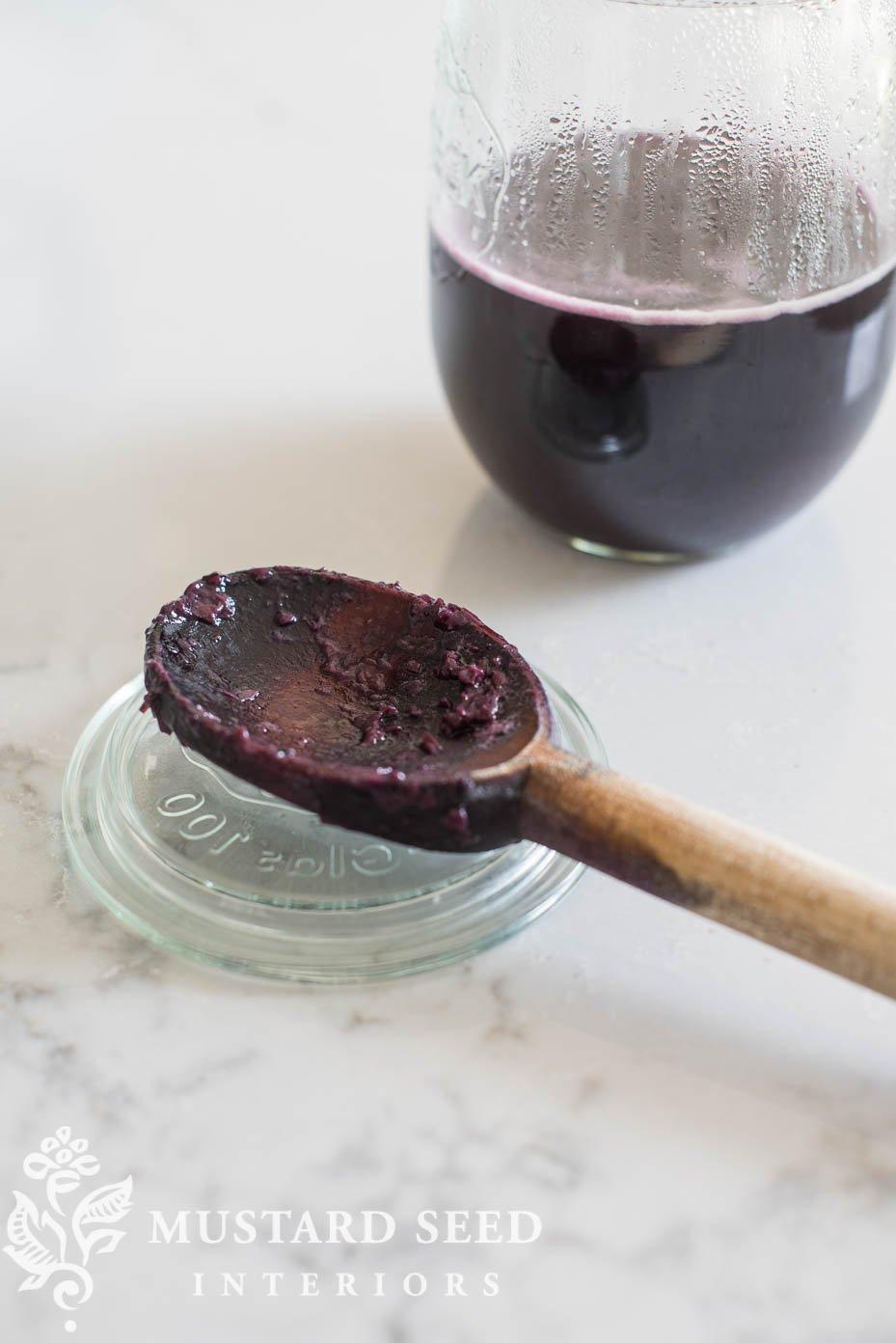 blueberry ink | miss mustard seed | missmustardseed.com