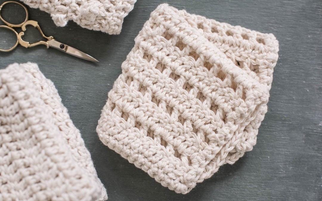 #happymailmovement giveaway | crocheted dishcloths
