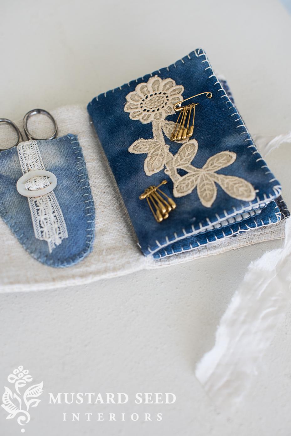 handmade needlebook   miss mustard seed   www.missmustardseed.com