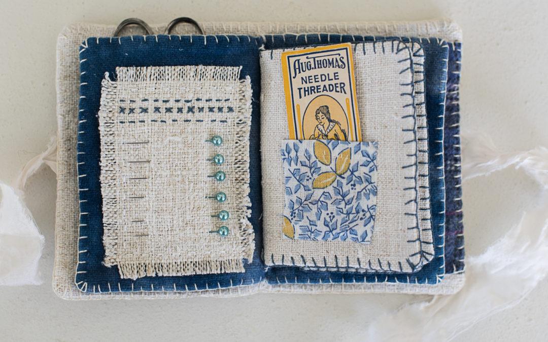 the handmade needlebook