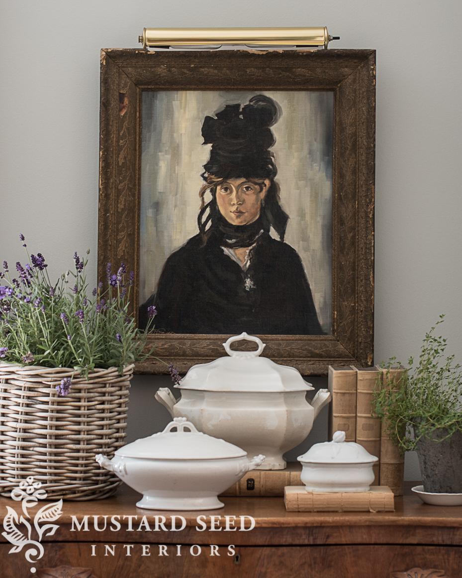 manet berte morisot copy painting miss mustard seed