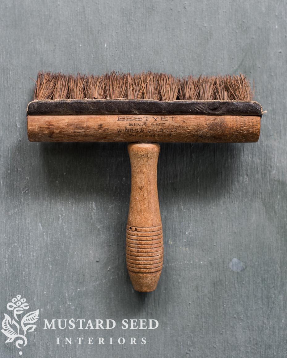 antique window washing brush bestyet miss mustard seed