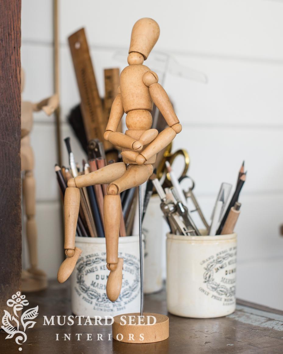 antique artist mannequin | miss mustard seed