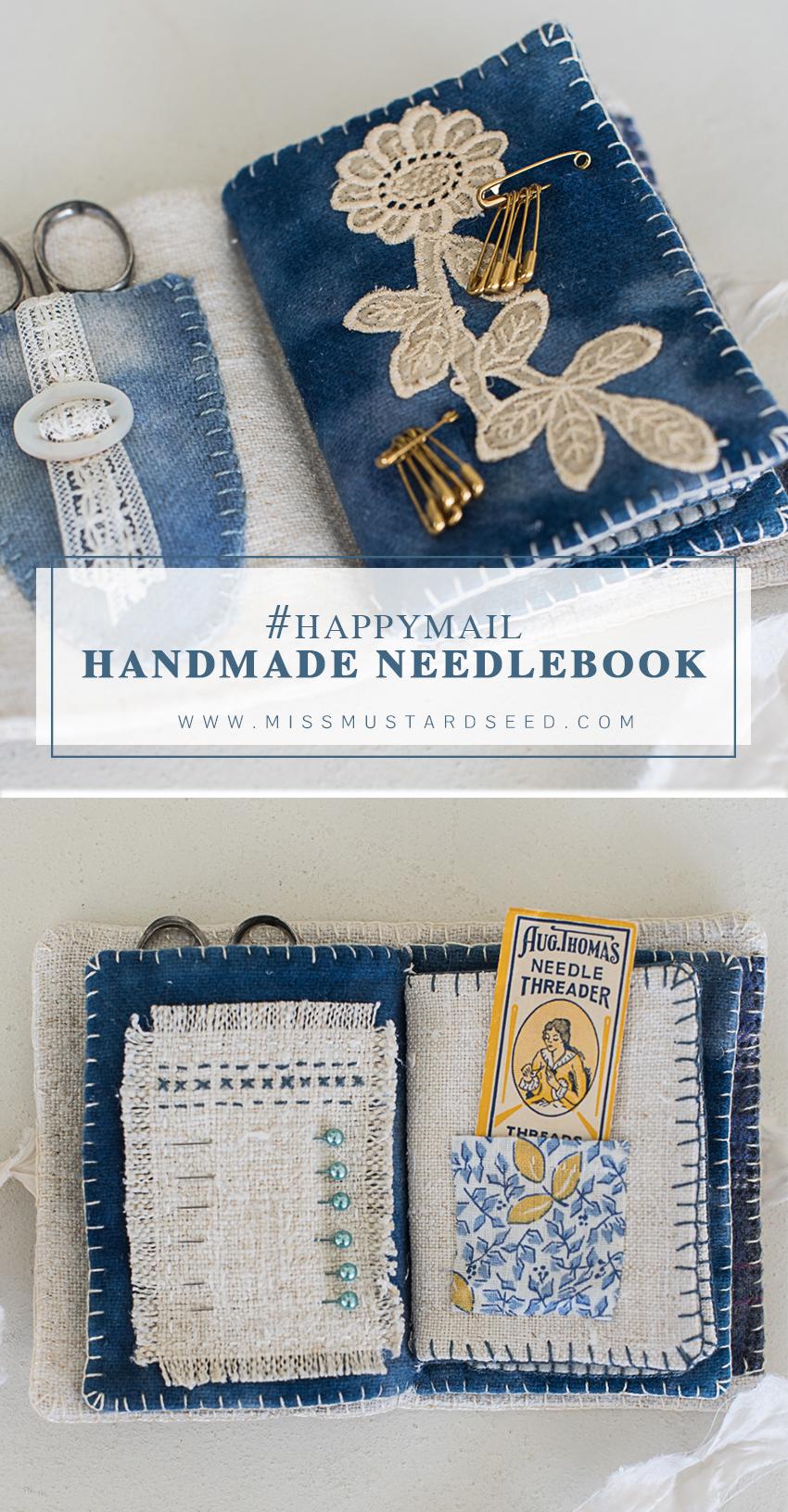 THE HANDMADE NEEDLEBOOK www.missmustardseed.com miss mustard seed