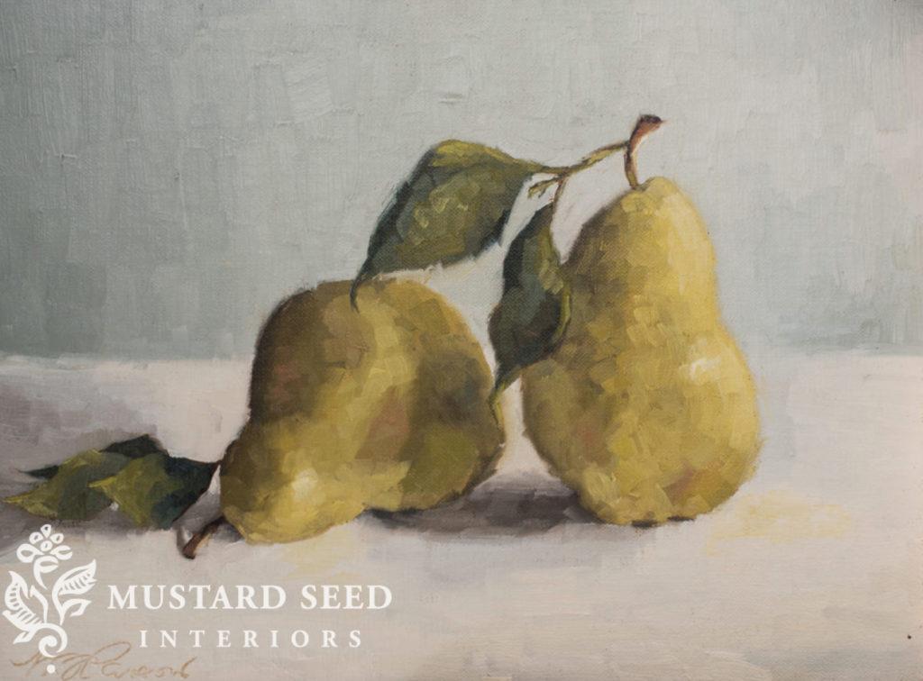 impressionist pear | miss mustard seed
