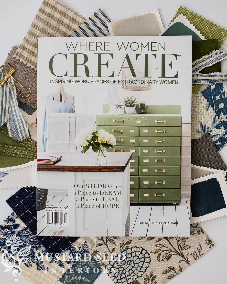 where women create magazine | winter 2020 | miss mustard seed