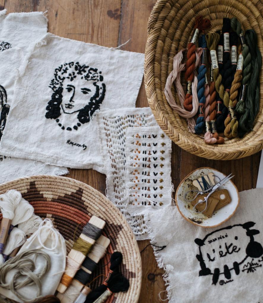 heather bullard | mindful hand stitching | miss mustard seed