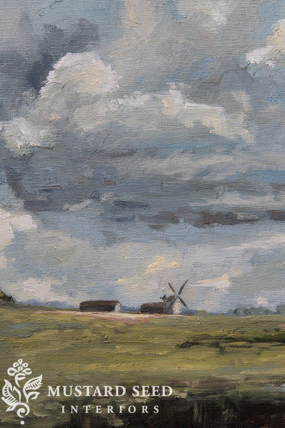 impressionist landscape | miss mustard seed