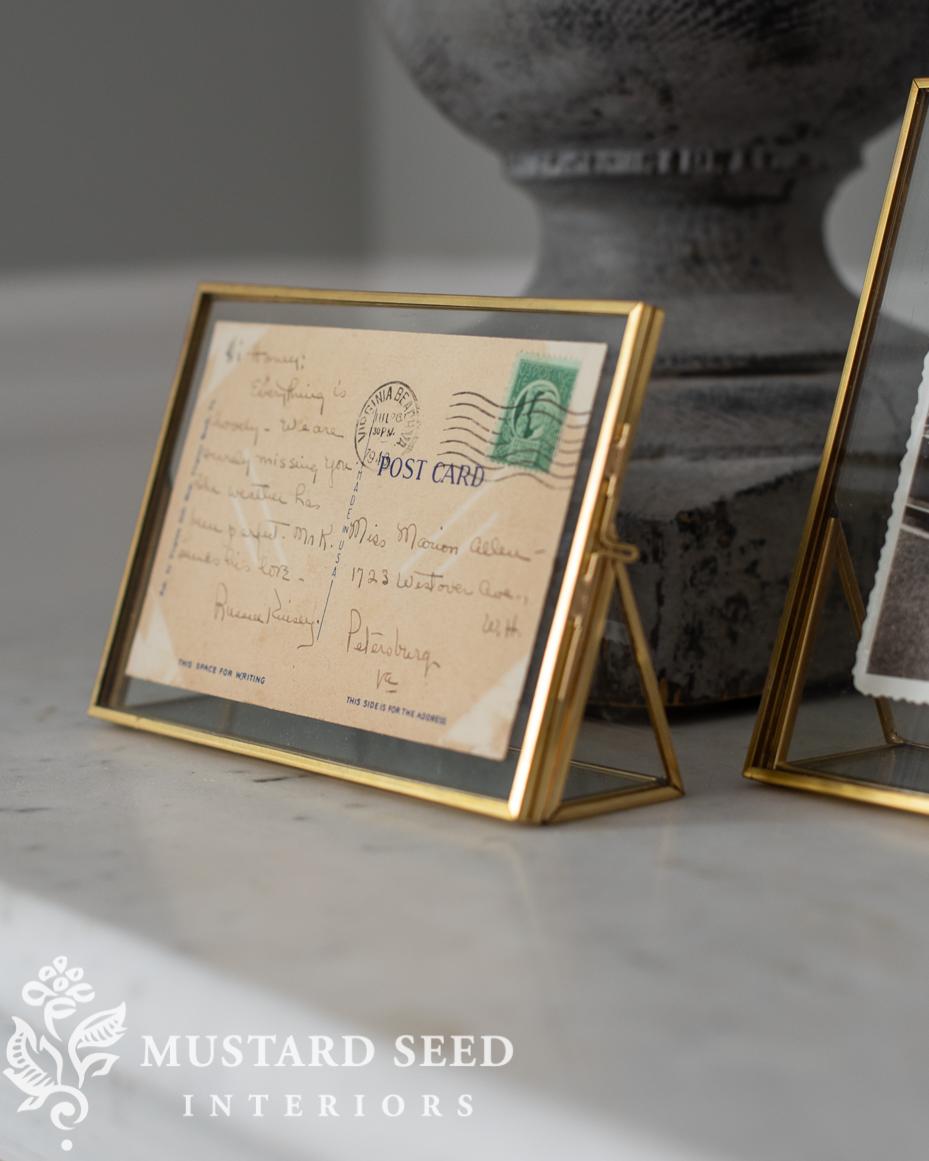 diy art | framed pieces of paper | miss mustard seed