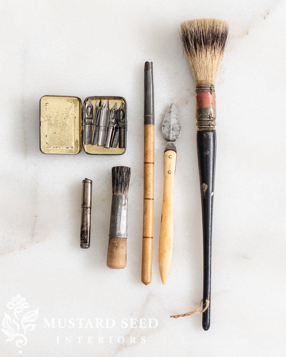 antique art supplies | miss mustard seed