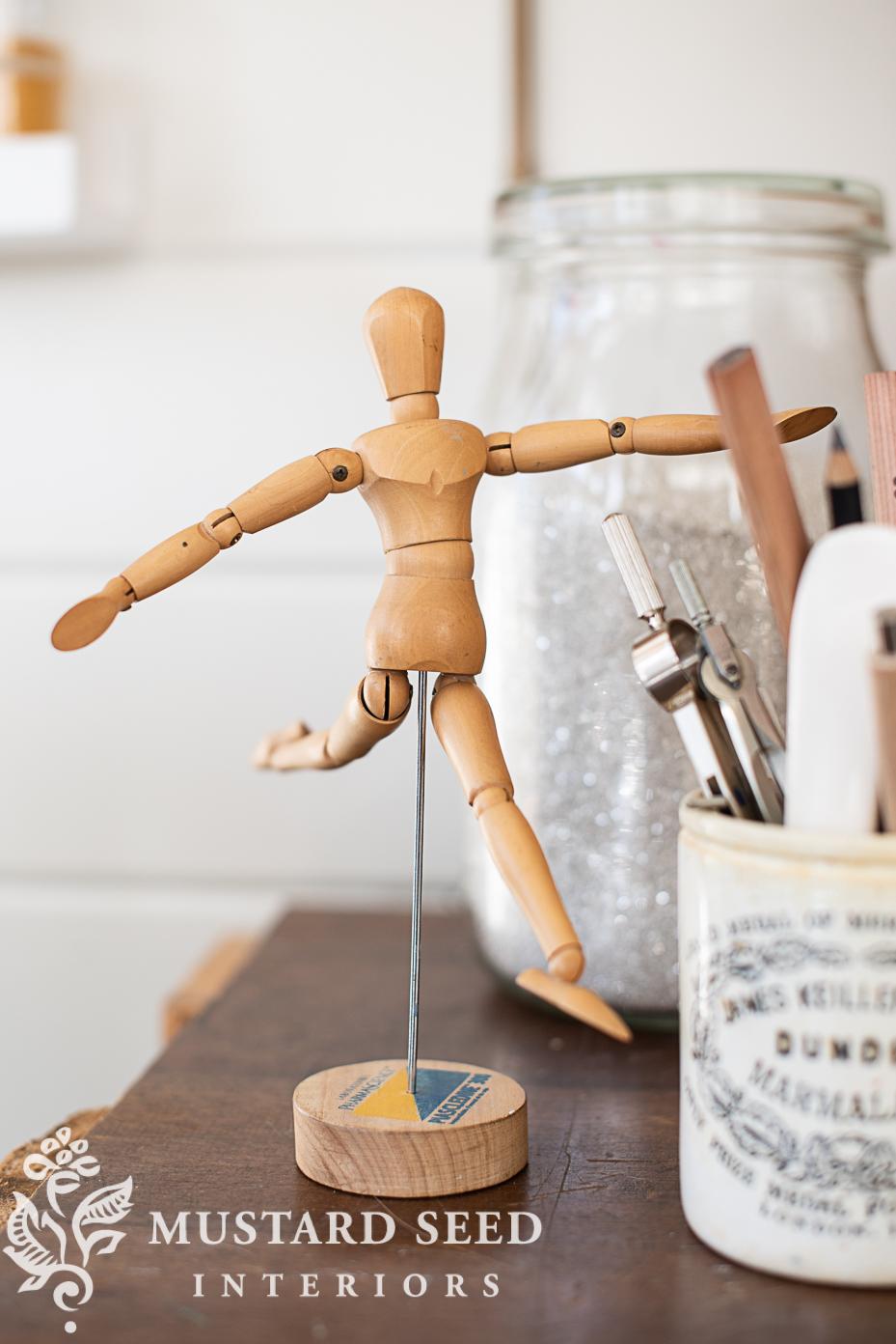 art mannequin   miss mustard seed