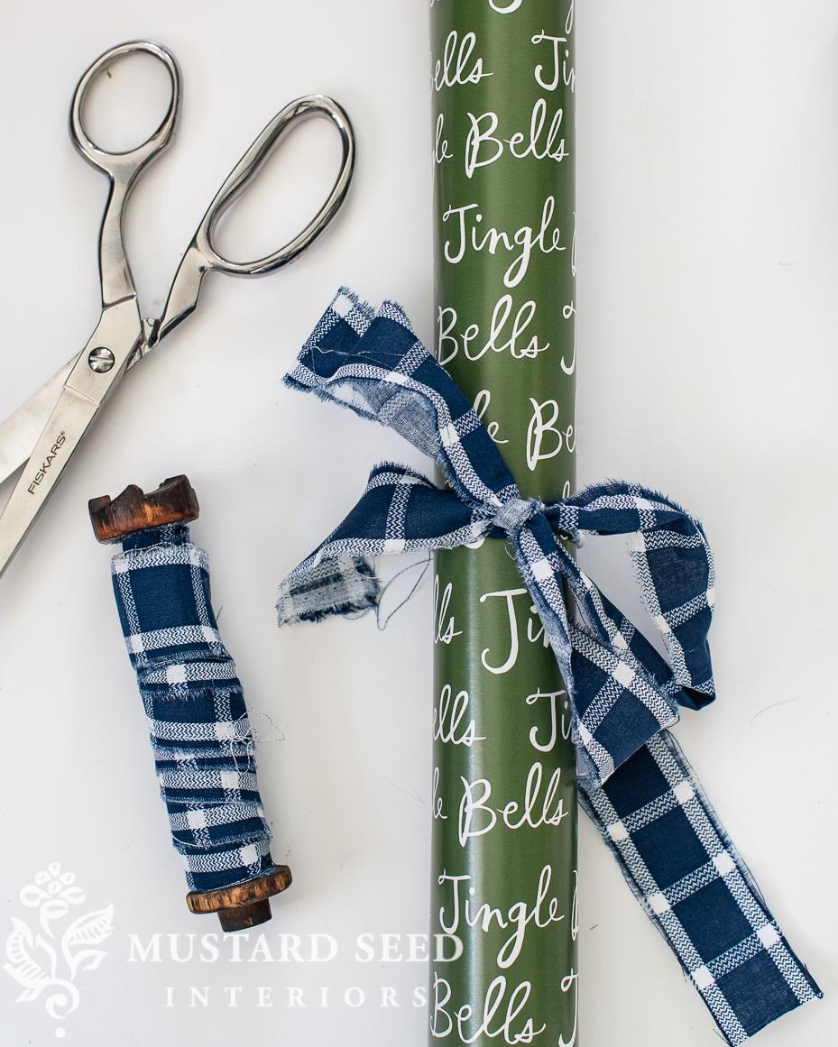 hand-cut rag ribbon | miss mustard seed
