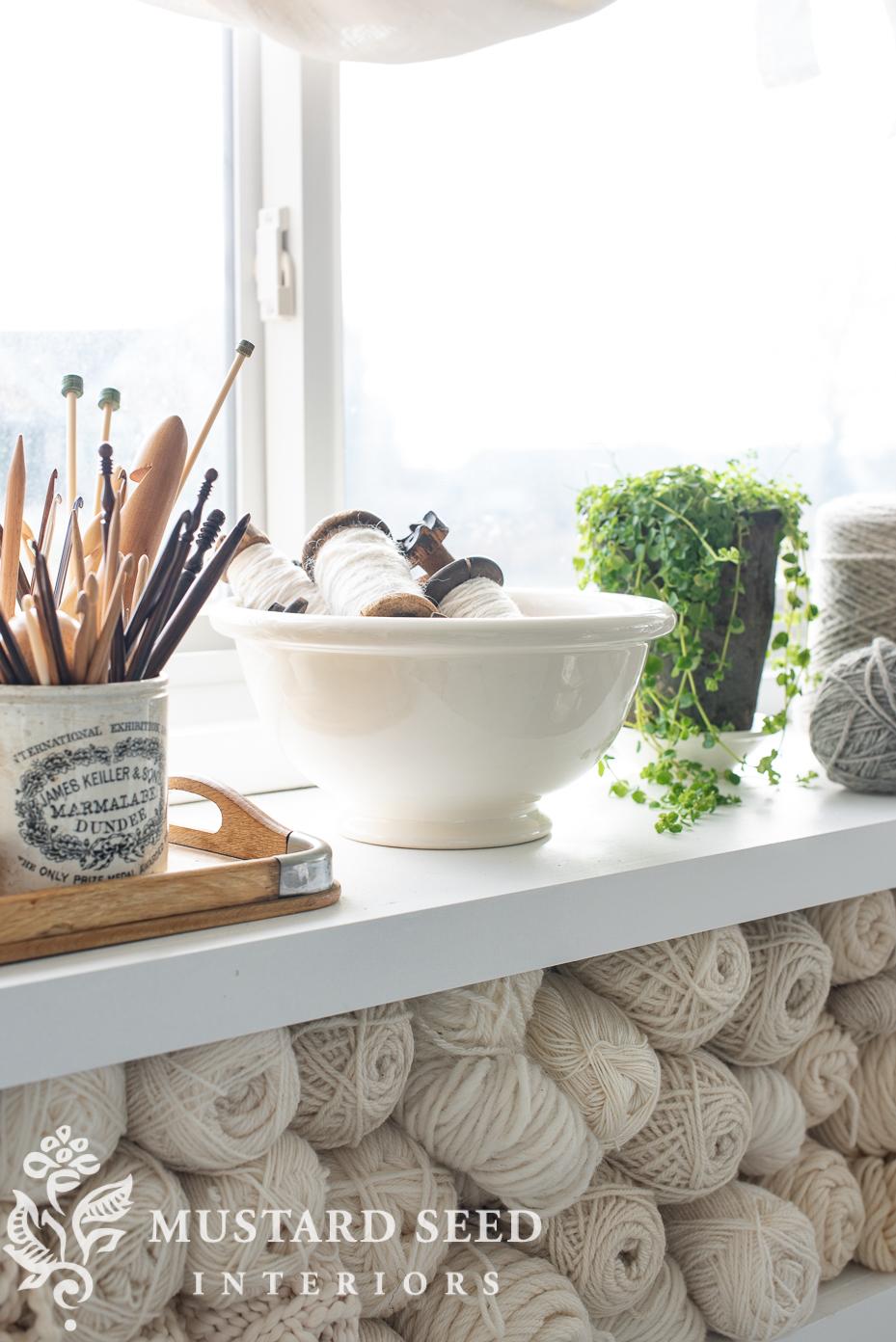 antique white ironstone dutch bowl | miss mustard seed