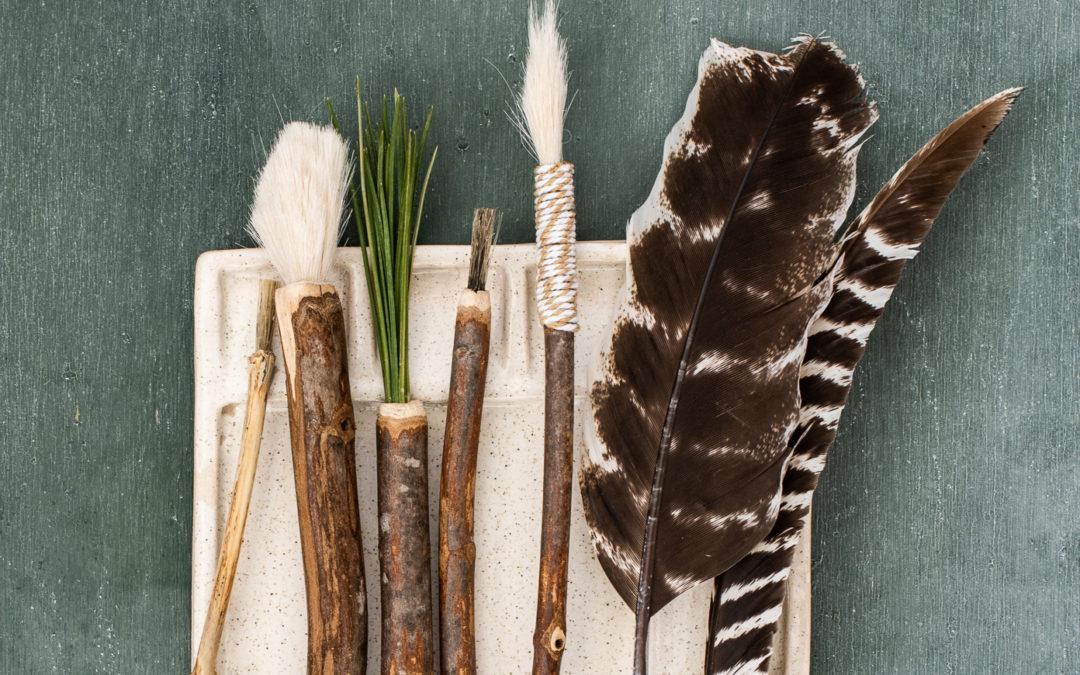 creative play | handmade brushes & pens