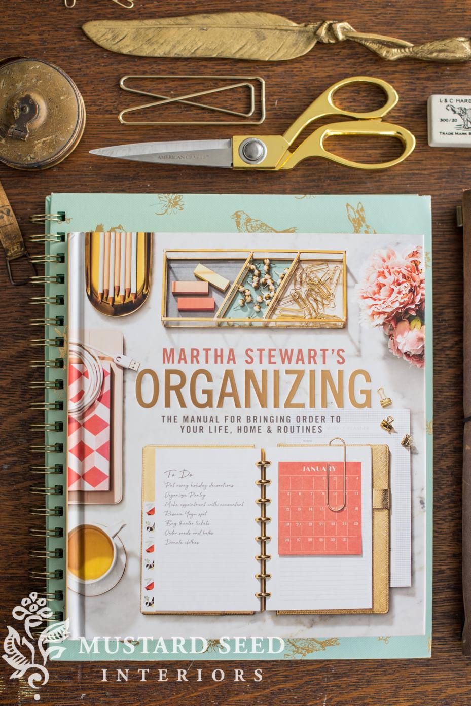 marthat stewart's organizing   miss mustard seed
