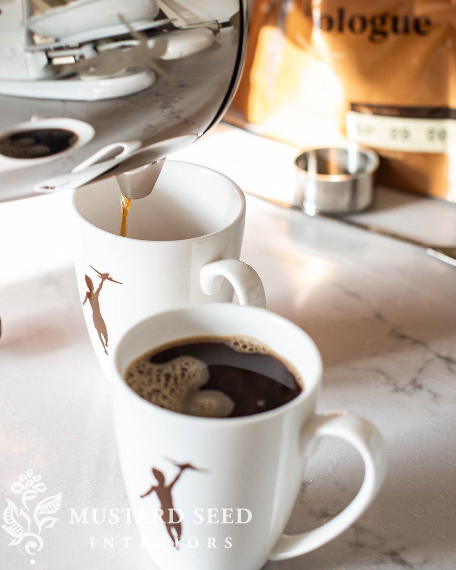 Storyville Porcelain Coffee Mugs   missmustardseed.com
