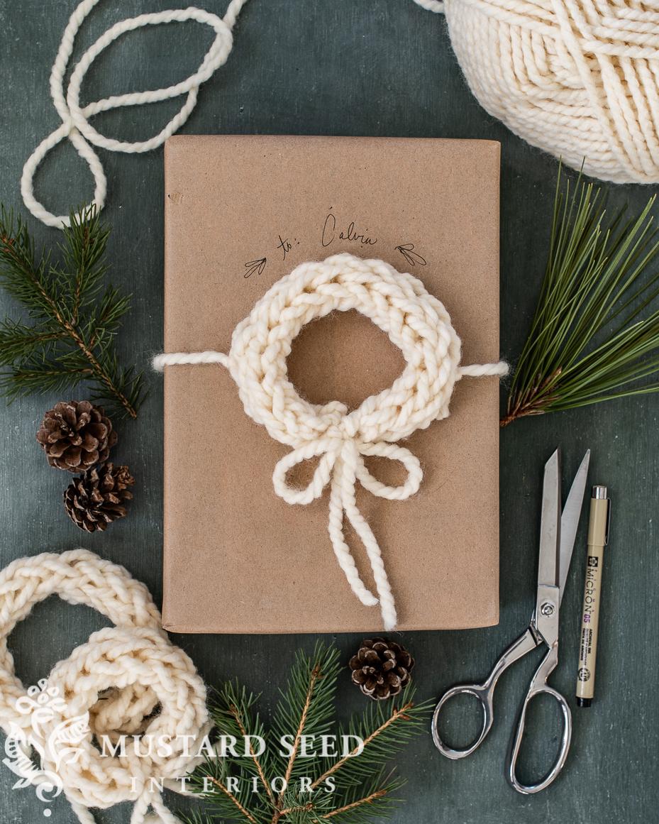 finger knitting tutorial | miss mustard seed