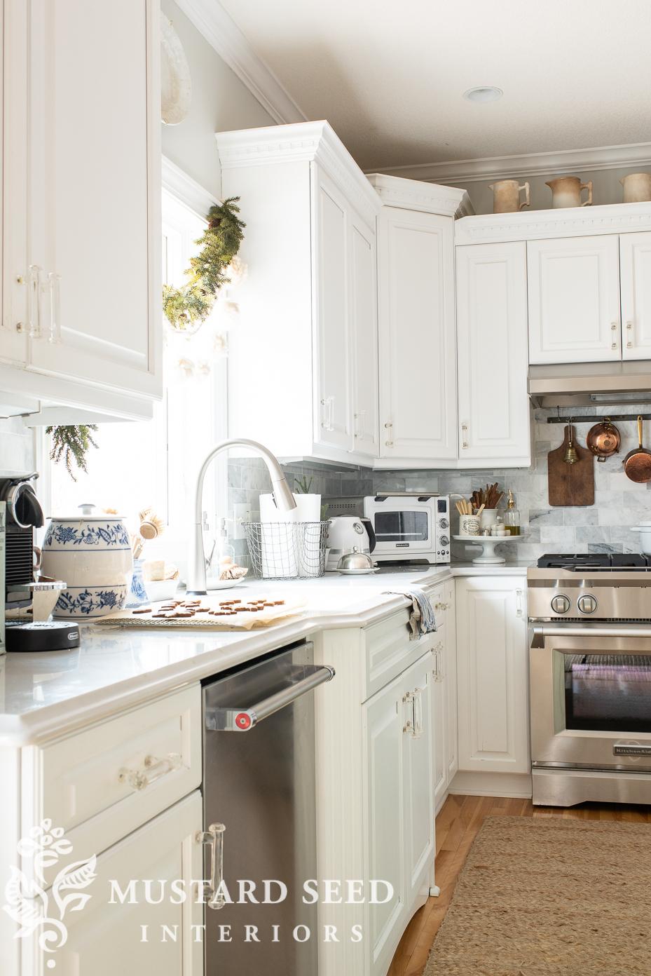 Christmas kitchen | miss mustard seed
