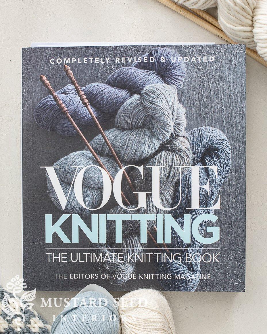 vogue knitting | beginner knit resources | miss mustard seed