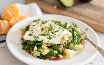 breakfast vegetable & egg stir fry recipe