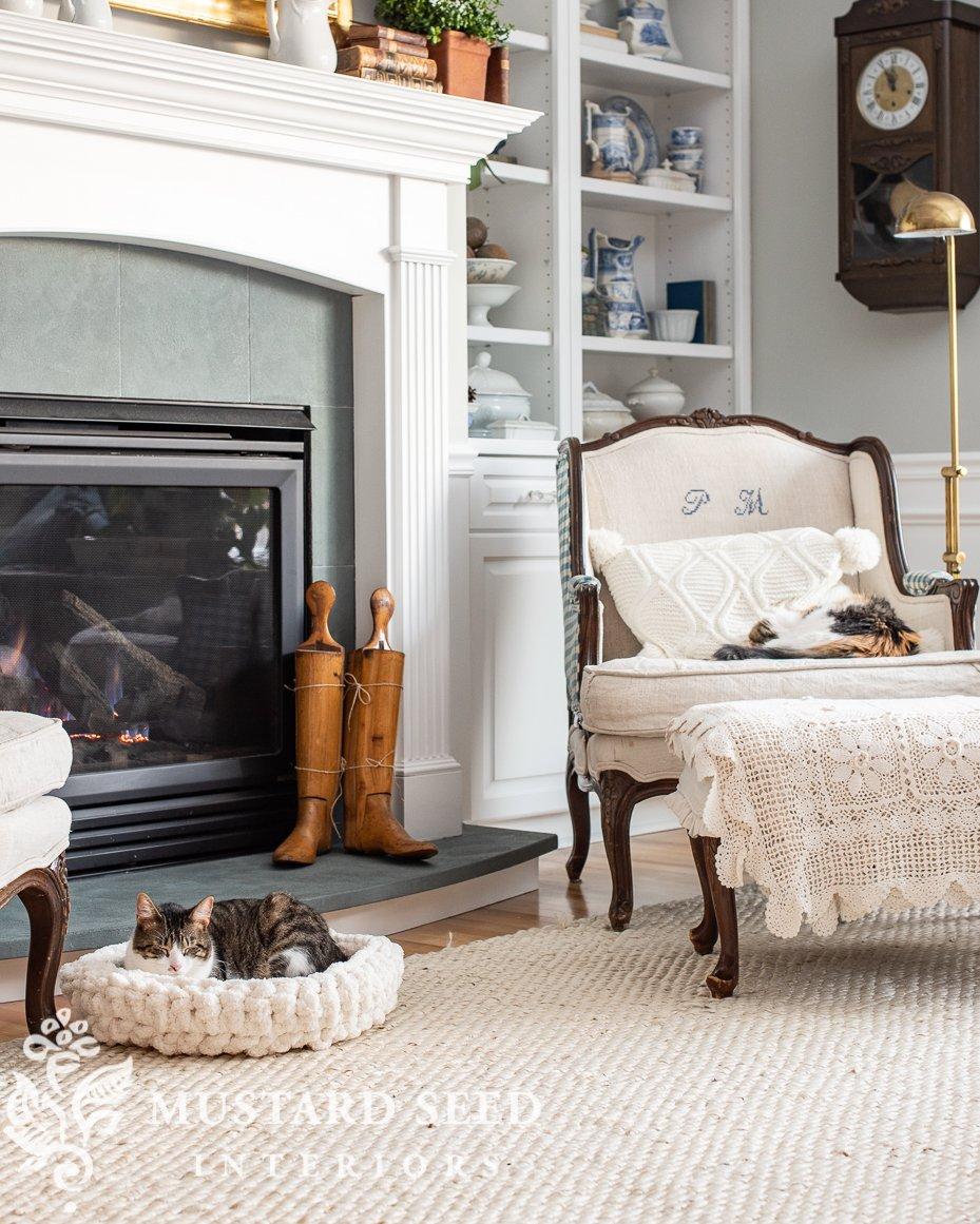 easy crochet cat or dog bed tutorial & pattern | miss mustard seed