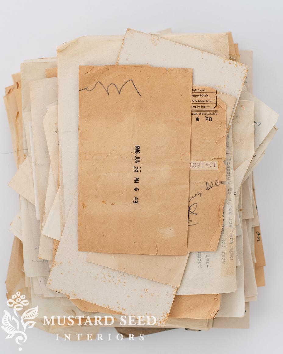 WWII letters from Marshall Johnson, Petersburg, VA | miss mustard seed