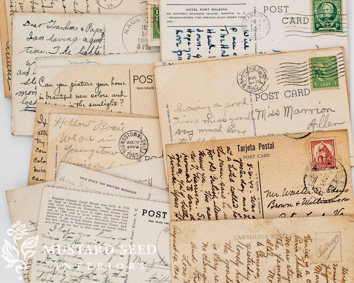 Antique and vintage postcards | Petersburg, VA | miss mustard seed