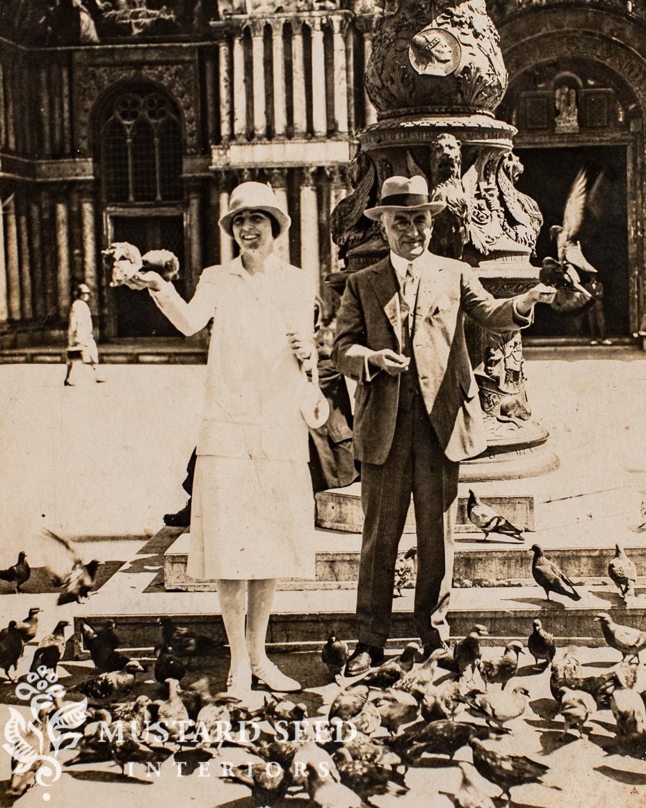 antique Venice photo postcard | miss mustard seed