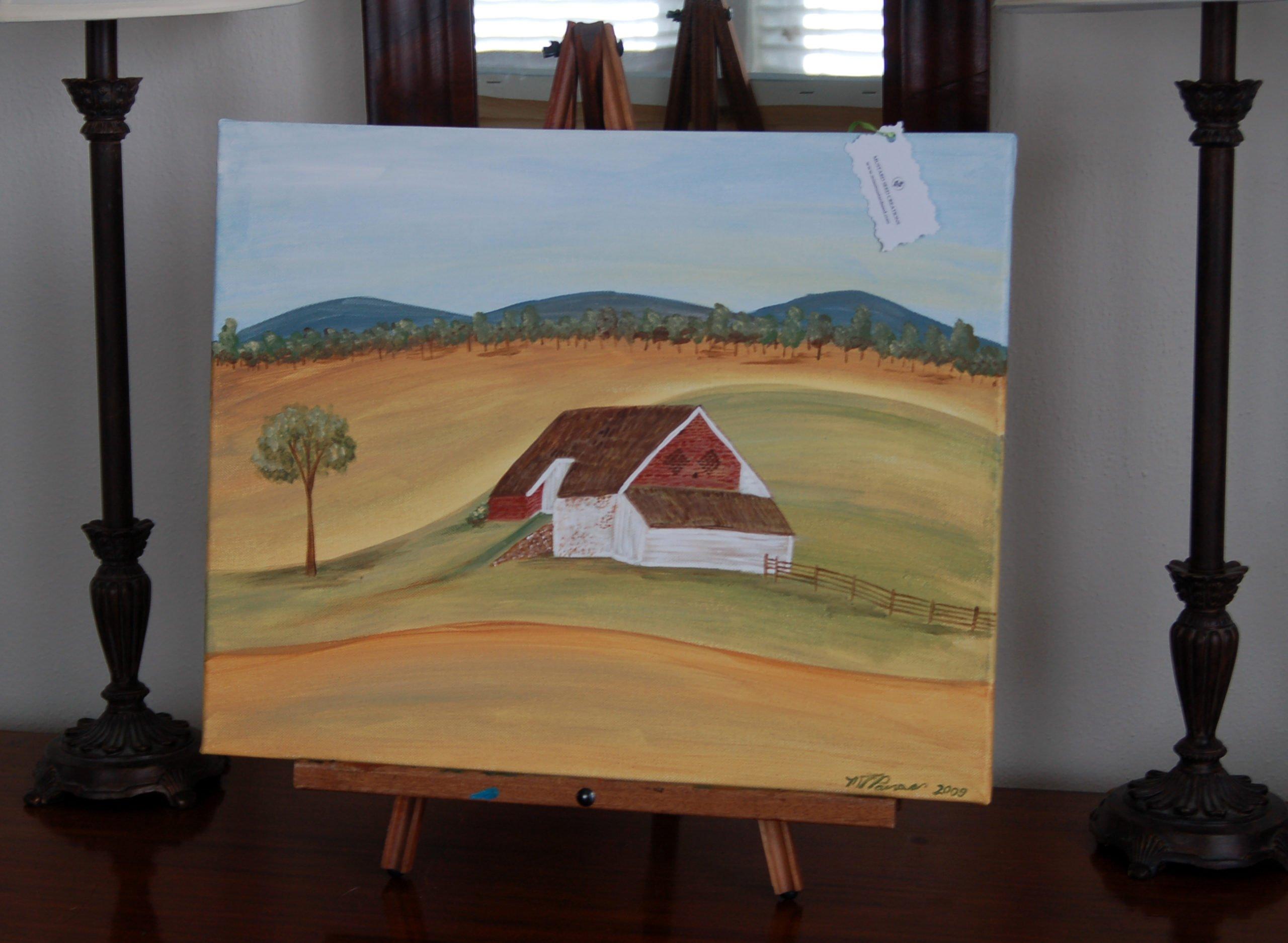 barn painting   gettysurg PA   miss mustard seed