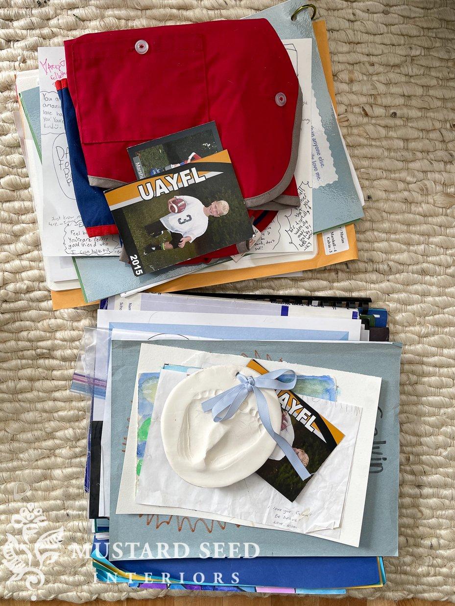 organizing family photos | miss mustard seed