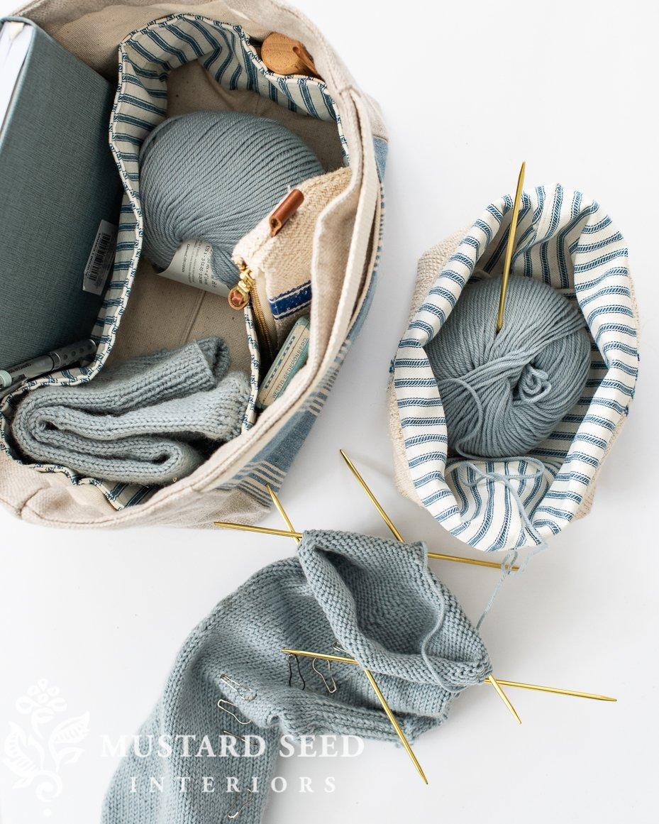 knitting supplies   miss mustard seed
