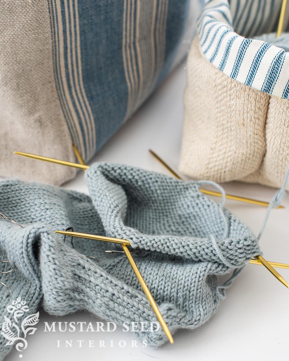 knitting vanilla socks | miss mustard seed
