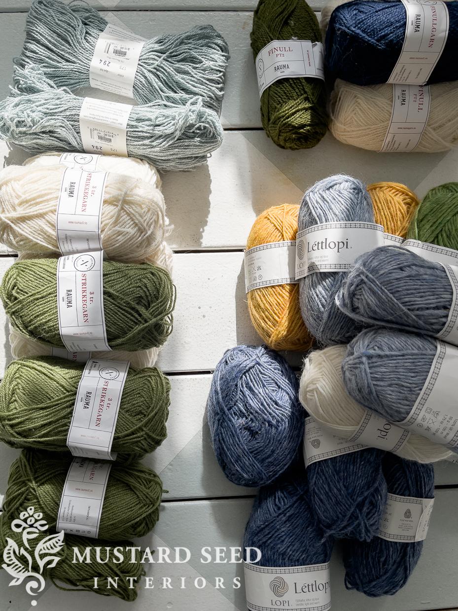 organizing yarn   miss mustard seed