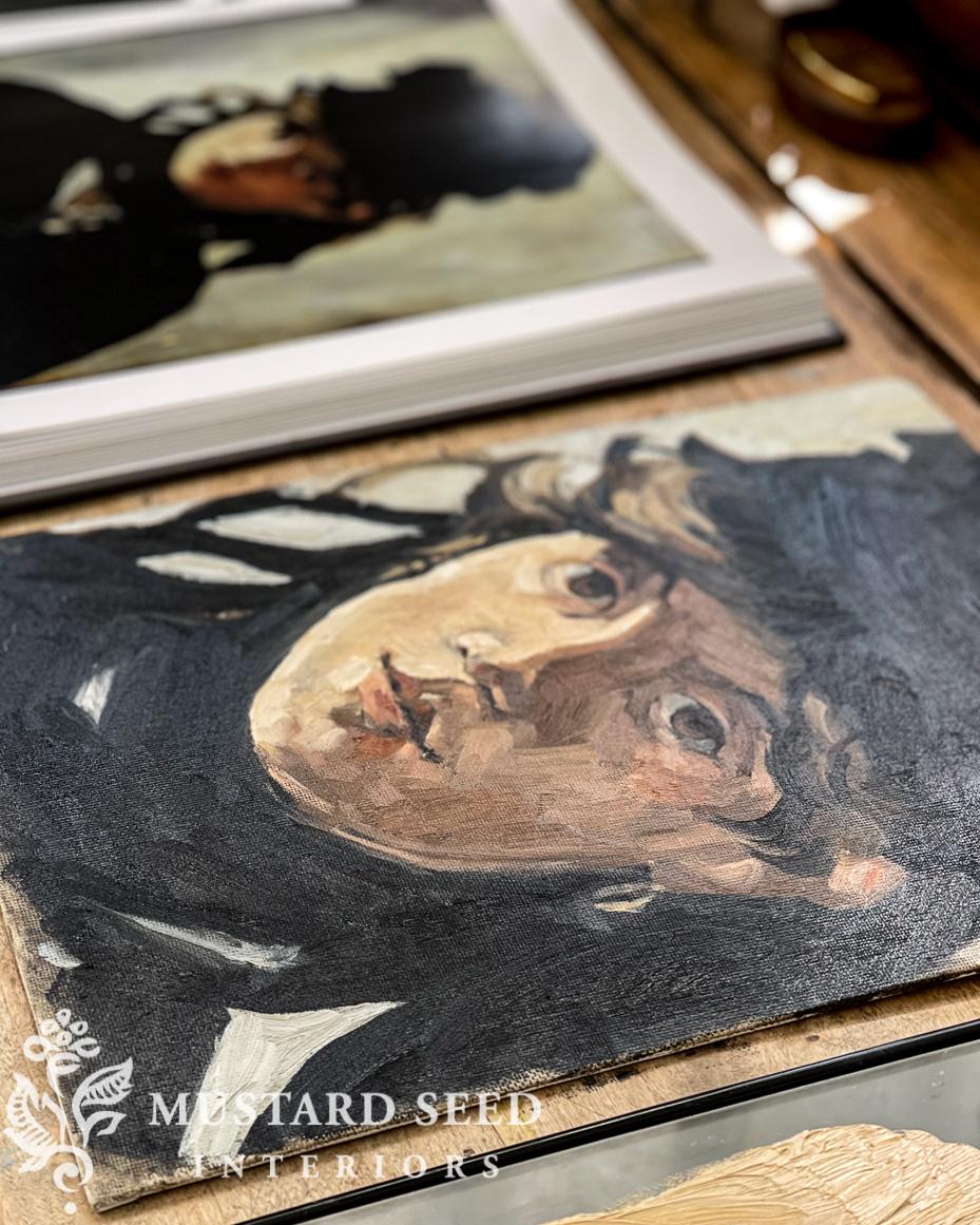 berthe morisot portrait study | miss mustard seed